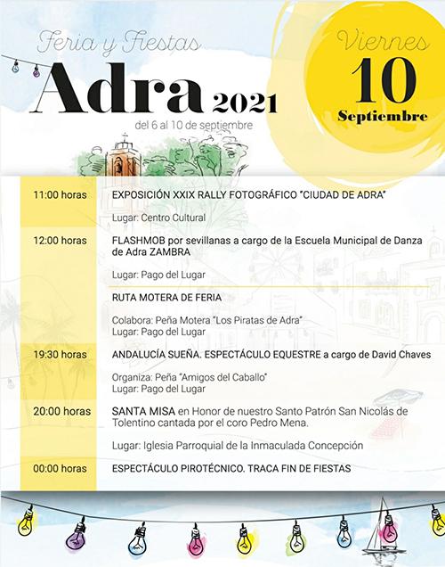 Feria y Fiestas Adra 2021