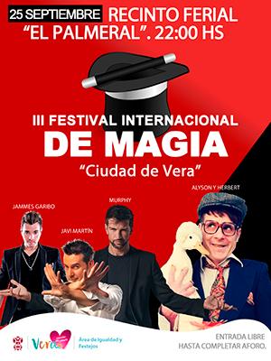 III Festival de Magia Ciudad de Vera