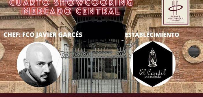 Showcooking en el Mercado Central