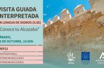 """Visita guiada interpretada en lengua de signos (ILSE), """"Conoce tu Alcazaba"""""""