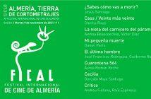 """CICLO """"ALMERÍA, TIERRA DE CORTOMETRAJES"""" FICAL 2021"""
