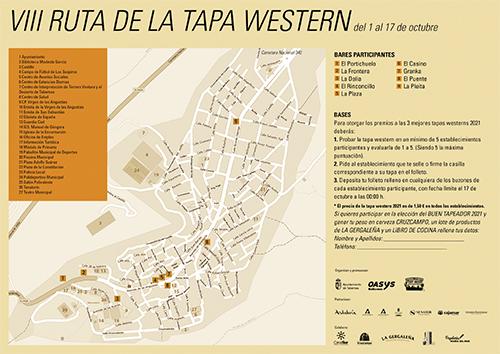 VIII RUTA DE LA TAPA WESTERN