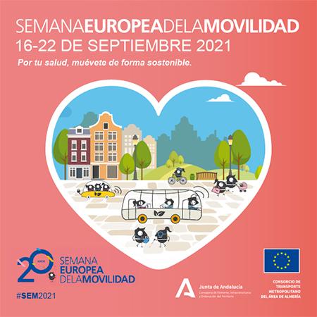 Semana Europea de la Movilidad (SEM) 2021 – C T M Área de Almería